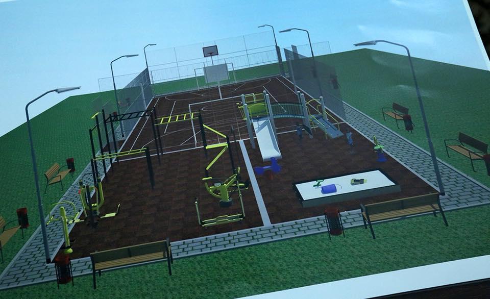 Start campaniei naționale de construcție a complexurilor sportive