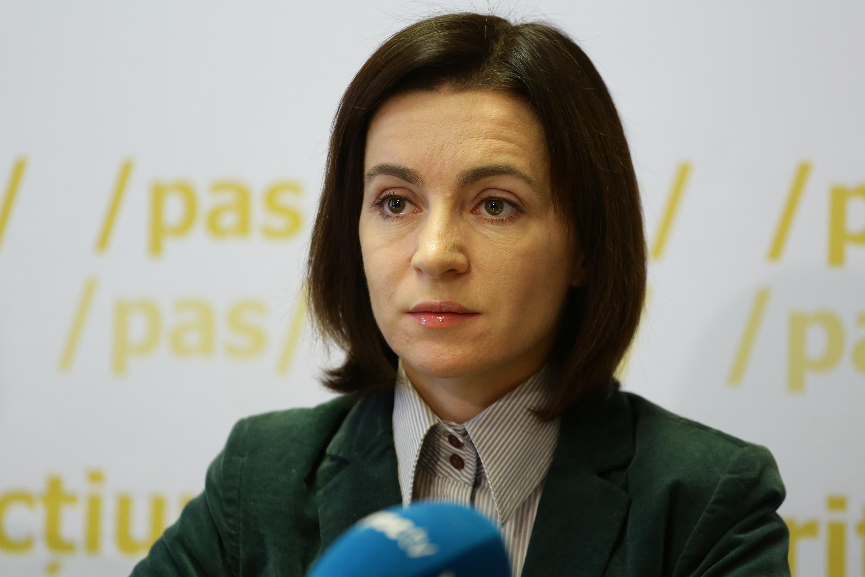 Санду прокомментировала заявление Додона по поводу роспуска парламента
