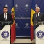 Ministrul T Ulianovschi si MAE al Romaniei