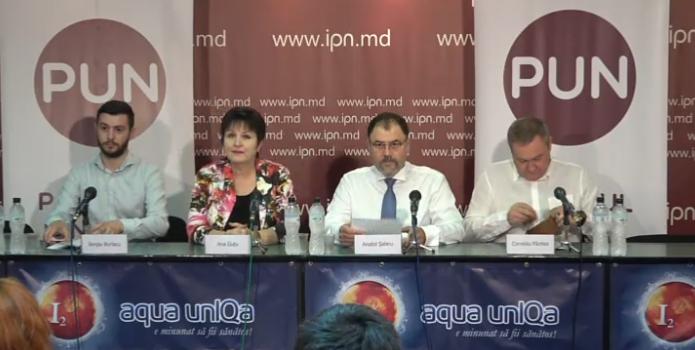 Партия национального единства, которую возглавляет Анатол Шалару, заявила на президента в Генпрокуратуру